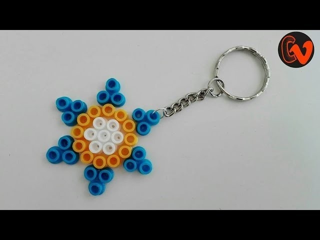 How To Make Perler Bead Keychain At Home
