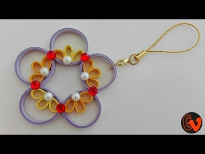 How to make Quilling Ornaments. Car Ornament