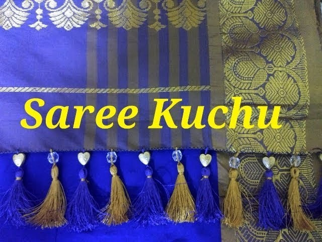 How to make saree kuchu
