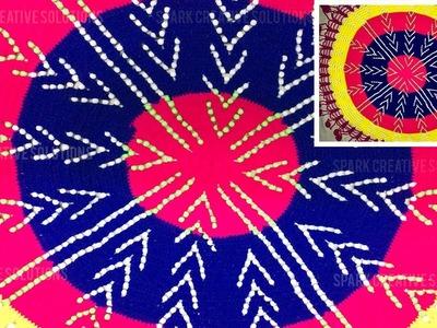 How to make woolen Thalpoos ( थाल पोस ) | Spark Creative Solutions 2019
