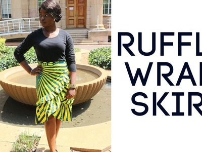 How to sew a Wrap Skirt | DIY Sewing tutorial