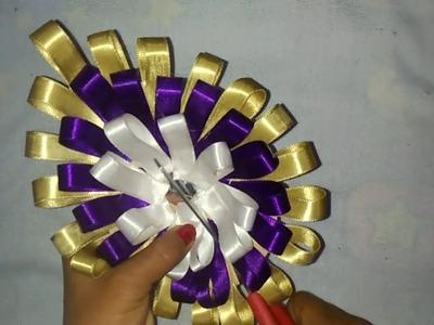 Jai balaji production !! How to make laddu gopal dress from satin ribbon !! Jb production !!