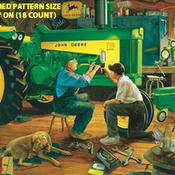 John Deere Time Together Cross Stitch Pattern***LOOK***