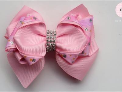 Laço De Fita ???? Ribbon Bow Tutorial #30 ???? DIY by Elysia Handmade