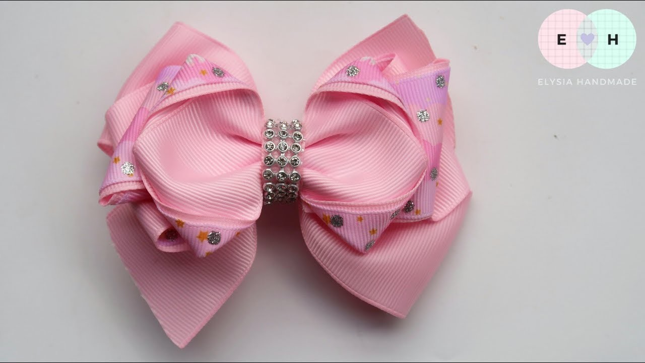 Laço De Fita ???? Ribbon Bow Tutorial #30 ???? DIY by Elysia Handmade
