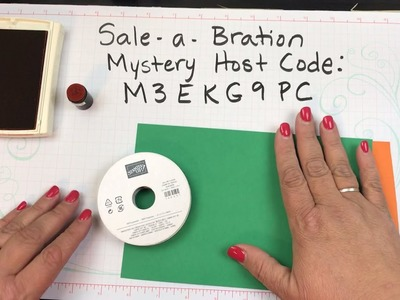 Learning how to make a DIY Treat Holder - Stampin' Up!