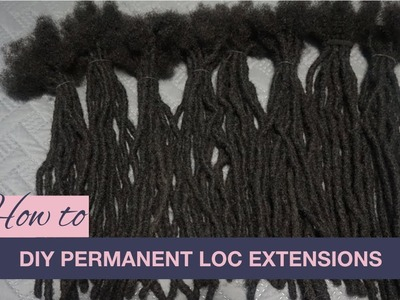 Loc Extensions | How to DIY Permanent Loc Extensions