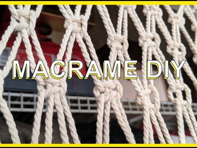 MACRAME CURTAIN HOW-TO | Average girl DIY