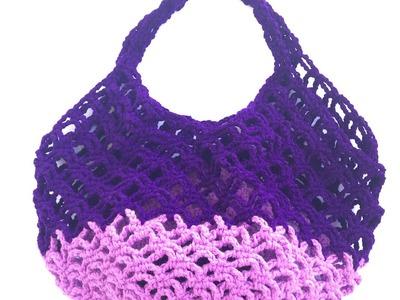 Part 2 | How to Crochet a Market Bag