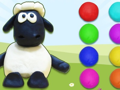 Play Doh Shaun The Sheep And Angry Birds | Easy DIY Videos by HooplaKidz How To
