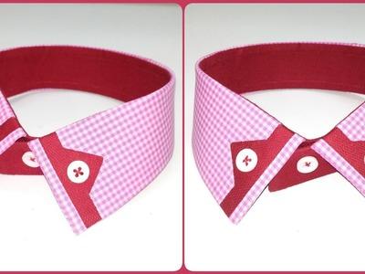 Shirt Collar Design | How to make shirt collar |Latest collar pattern 2019