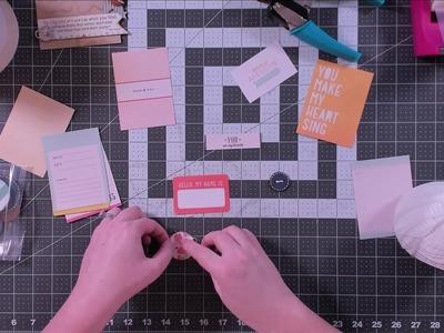 Shop My Stash | DIY Embellishments II | Kathryn Scraps Live