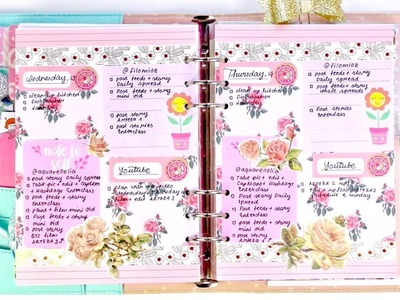 How I Set Up My Daily Pages for My Kikki.K Planner | DECORATE WITH ME | PLAN WITH ME | Filo.mioz