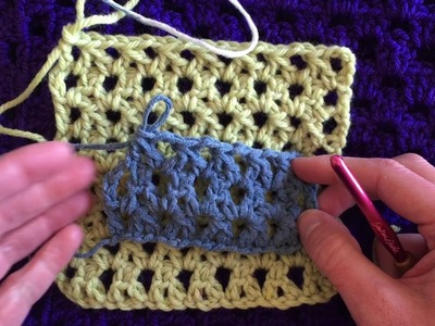 How to Crochet the Forked Double Crochet