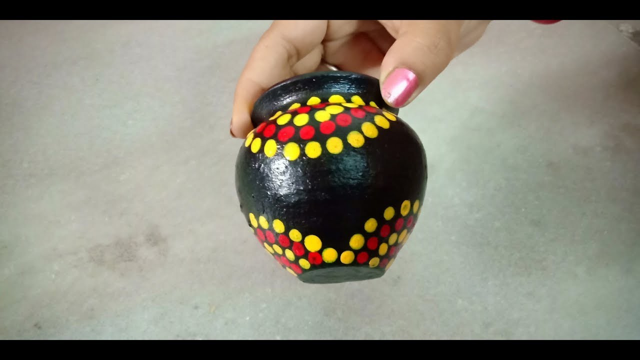 How To Decorate Pot At Home Suni Katya Collection