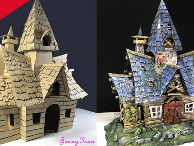 How To Make A Cardboard Haunted House