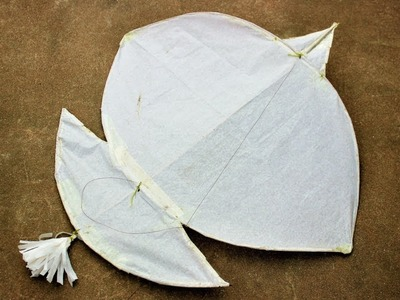 How To Make a Patang at Home With Jaru Sticks !