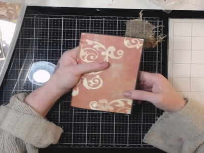 How To Make A Simple Journal Part 4! Embellishing!!????????????????