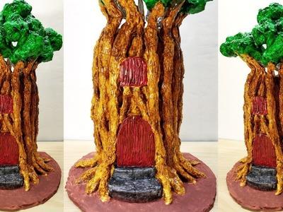 How to make amazing fairy tree house