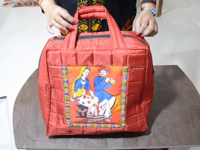 HOW TO MAKE BIG SIZE BAG FOR SHOPPING AND TRAVEL