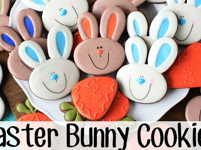 How To Make Decorated Easter Bunny Sugar Cookies