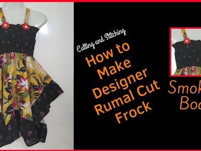 How to Make Designer Rumal Cut Frock