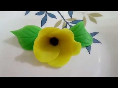 How to make Flower with Play Doh | Suni Katya Collection