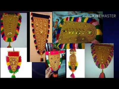 How to make Netti pattam.About Nettipattam.elephant caparison