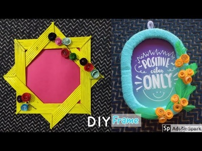 How to make  Photo Frame | Best out of waste | parul pawar