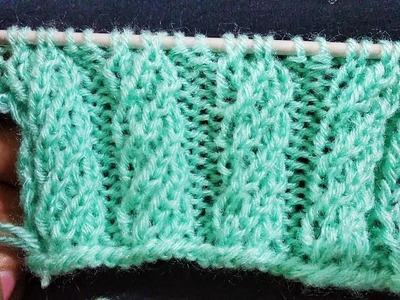 Knitting Pattern For Ladies Cardigan.Sweater.Muffler | Natural Style Hindi