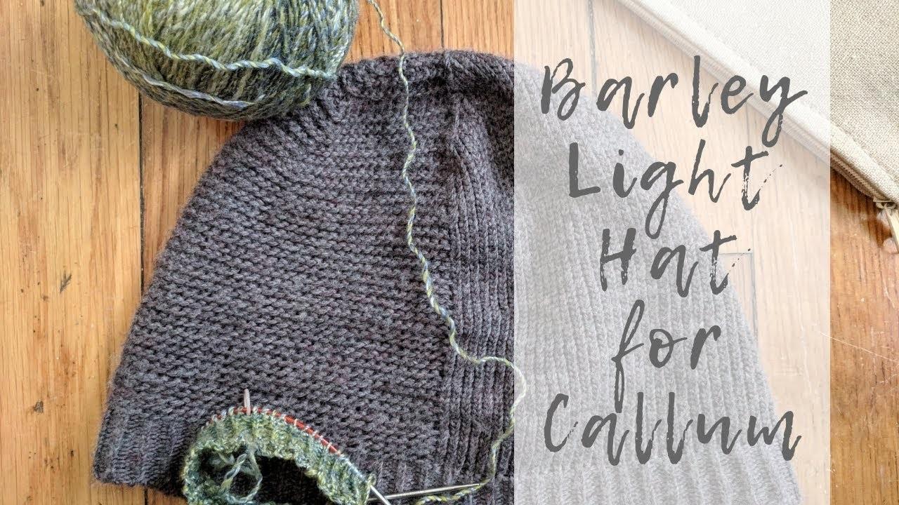 Knitting Tin Can Knits Barley Light Hat Chat