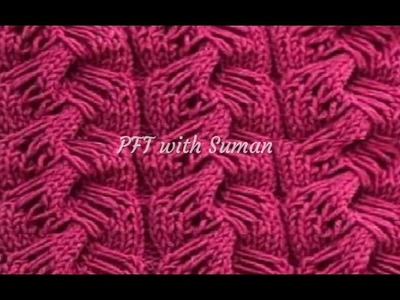 New knitting design.pattern #65 for cardigan, sweater, jacket, frock ||in hindi||
