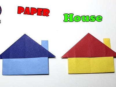 Origami House Instructions | Free Printable Papercraft Templates | 300x400