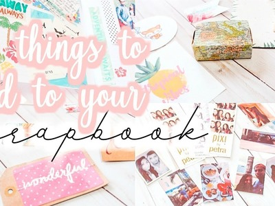 15 Things to Add to your Bullet Journal.Scrapbook [Roxy James] #bulletjournal #scrapbook #planwithme