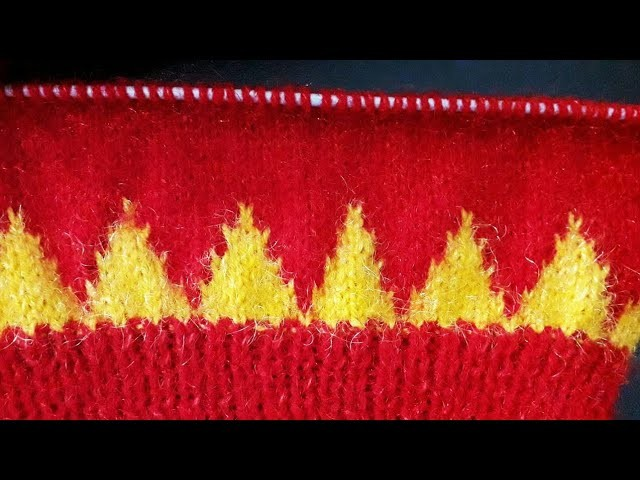 Beautiful & Easy Knitting Design in Hindi