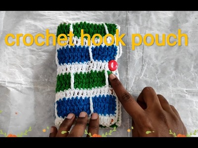 Crochet hook case | crochet Tamil with English subtitle