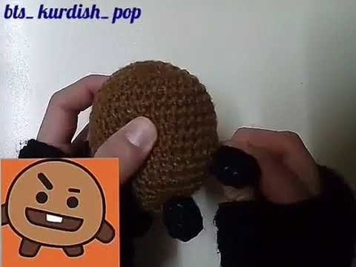 Crochet shookie from BT21 by juju Happy birthday suga ????????