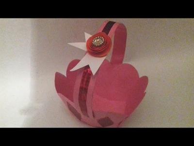DIY Simple Handmade Paper Basket At Home    How To Make Creative Paper Basket    Arts Son Megicul