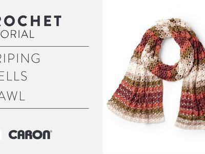 Easy Crochet Shawl Tutorial With The Crochet Crowd