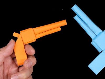 Easy Origami Gun Pistol - How to Make Gun Pistol Step by Step
