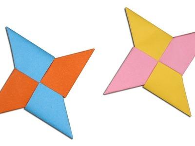 Easy #Origami Paper Ninja star - How to Make Ninja star Step by Step