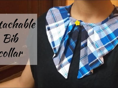 Fashion with Style.How to Make Detachable Collar.Cutting and Stitching