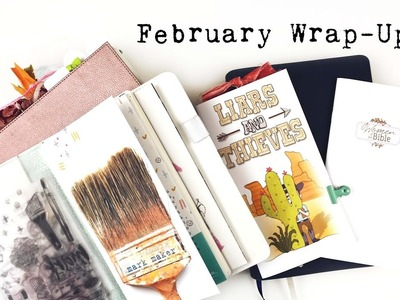 February Wrap Up | How do I manage to work through ALL the kits?