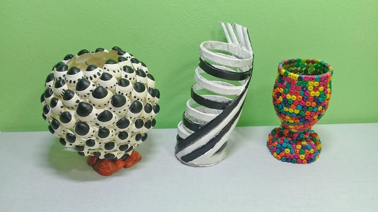 Flower vase ideas | DIY Flower Vase Ideas You Can Do Easily | How to make flower vase