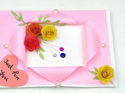 Handmade birthday card ideas for best friend   How to make handmade birthday cards at home  