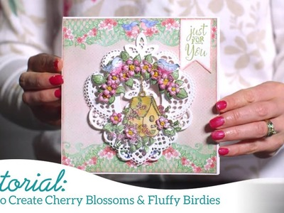 How to Create Cherry Blossoms & Fluffy Birdies -Cherry Blossom Retreat