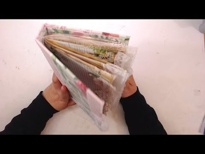 How to Decorate A Junk Journal - A World Of Heart 24hr Live Event