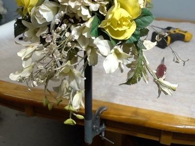 How to make a bouquet bracket
