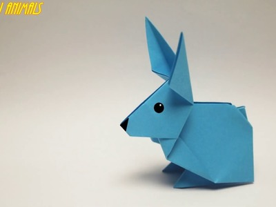 How to make a paper rabbit  Origami Animals