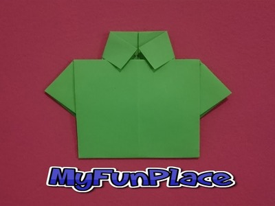 How To Make A Paper Shirt - Origami